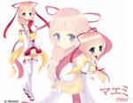 UTAU Maemi :visual novel style art: