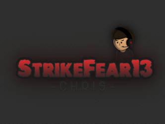 Strikefear 13 - Logo Design by SpinDash16