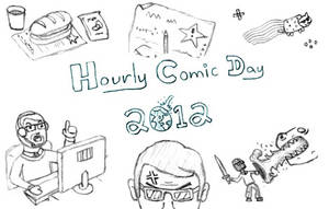 Hourly Comic 2012 (link) by JaffaCakeLover