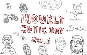 Hourly Comic 2013 (link) by JaffaCakeLover