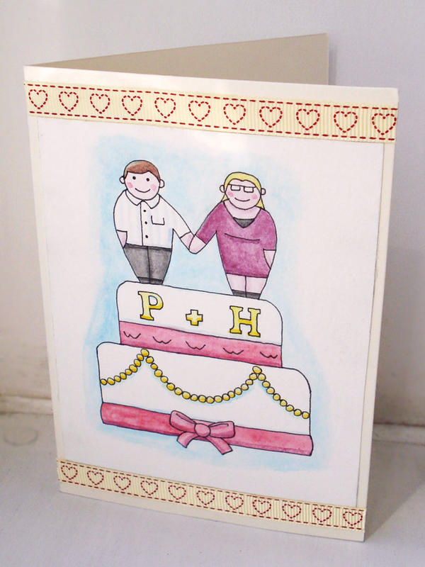Wedding Card - Wests by JaffaCakeLover