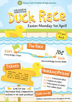 Duck Race Poster by JaffaCakeLover