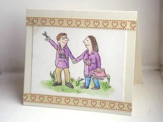 Wedding Card - Turners by JaffaCakeLover