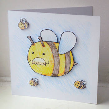 Dad-Bee Birthday by JaffaCakeLover