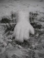 Snow arm: Reaching by JaffaCakeLover