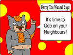 Barry The Weasel: Front