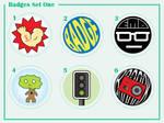Badges Set One