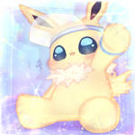 Paperclip the Jolteon [FIN] by Moontopaz