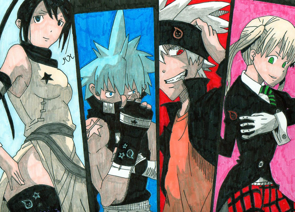 Soul Eater Crew by 911RollingThunder