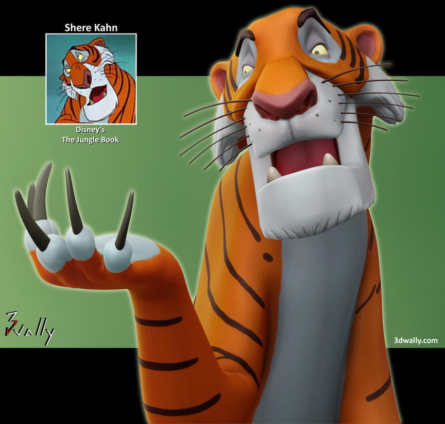Shere Kahn, The Jungle Book by ade2004wally