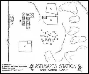 Astusapes Station Map by kiowapilot