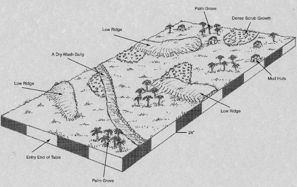 3D scenario map by kiowapilot