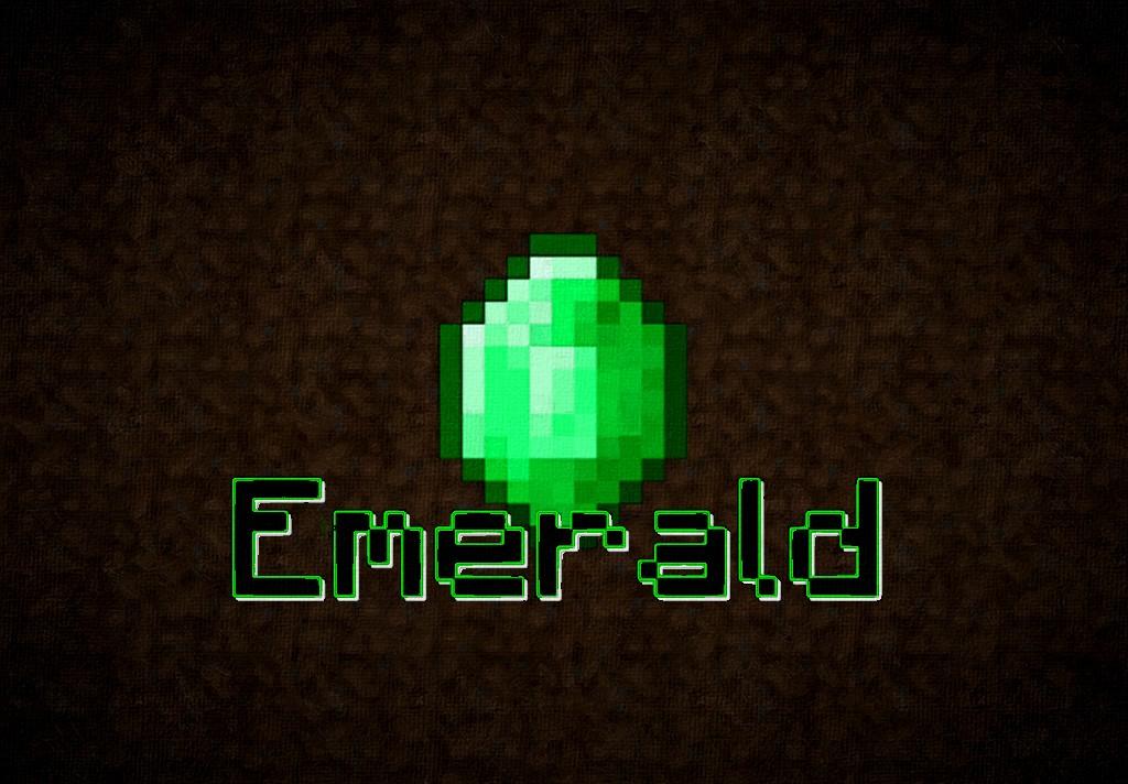 Minecraft Emerald 2560X1440 YouTube Backgrounds