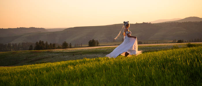 Princess Serenity: Spinning