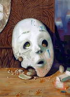 Mask of Fluffington by ChristmasSocks