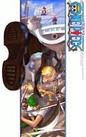 One Piece Fanart by ChristmasSocks