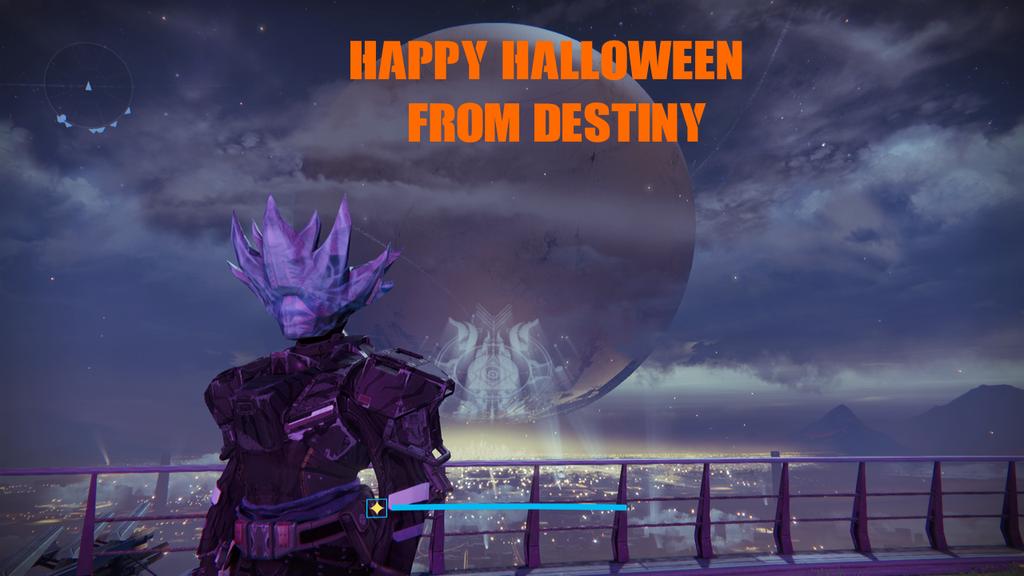 Destiny: Happy Halloween by ZER0GEO on DeviantArt