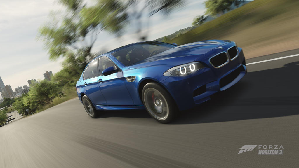 Forza Horizon 3: 2012 BMW M5 by ZER0GEO on DeviantArt
