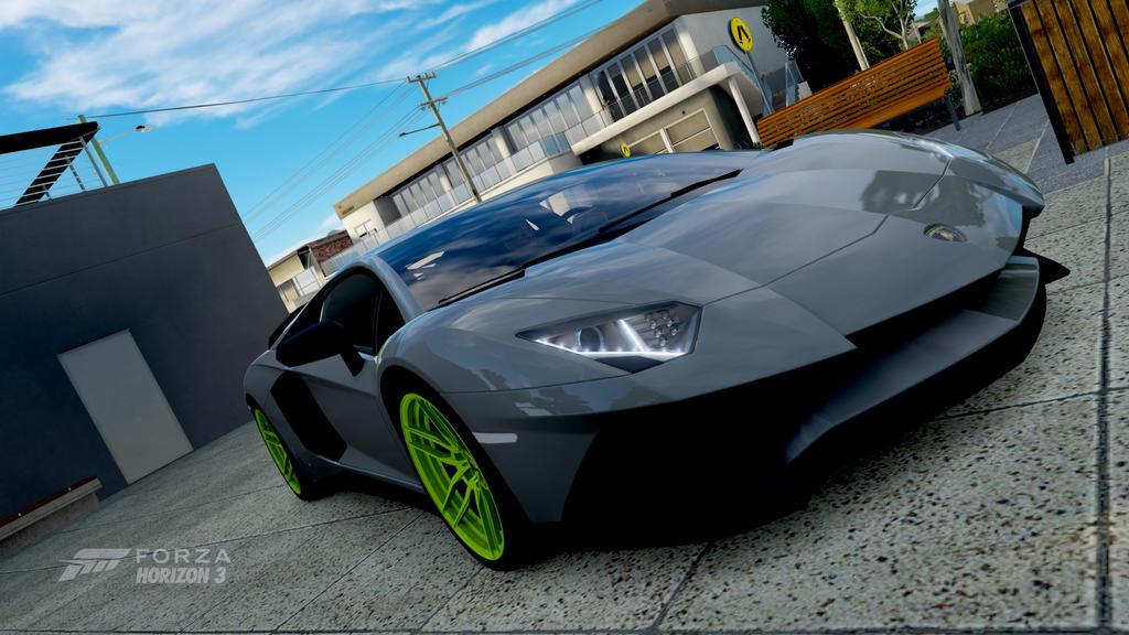 Forza Horizon 3 2016 Lamborghini Aventador SV By ZER0GEO On DeviantArt