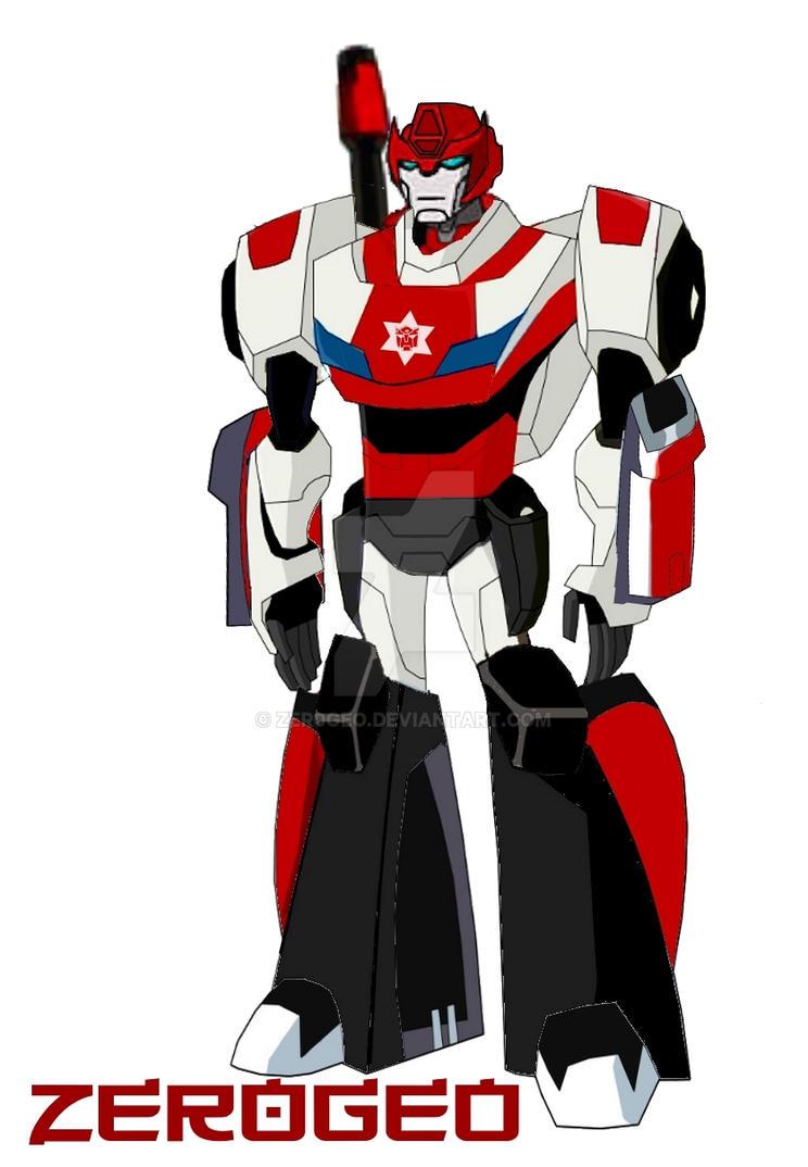 Transformers Animated Alert G1 Red Alert By Zer0geo On Deviantart