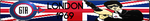 Grand Theft Auto London Fan Button by ZER0GEO