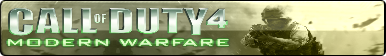 Call of Duty 4 Modern Warfare Fan Button by ZER0GEO