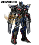 Transformers Movie Concept: Knight Optimus Upgrade by ZER0GEO