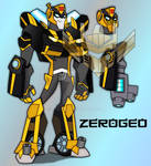 Transformers Animated: Hornet (Movie Bumblebee) by ZER0GEO