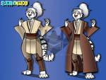 Jedi Knight/Consular Y'Lara by ZER0GEO