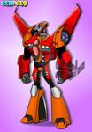 Transformers Animated OC: Wildstrike 3(Commission) by ZER0GEO