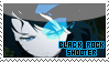 Stamp - Black Rock Shooter by MikamixChan