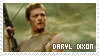 Stamp - Daryl Dixon(The Walking Dead) by MikamixChan