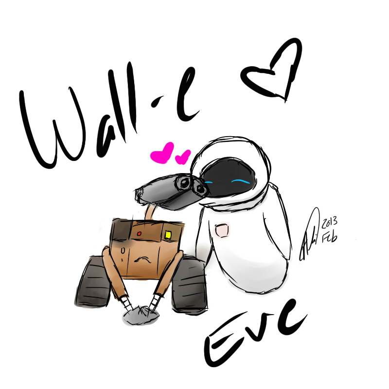 love and wall e Travel to a galaxy not so far away with wall-e, a lonely robot who discovers love on a fantastical journey across the universe.