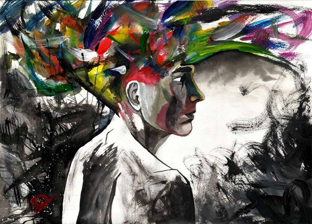 Self Portrait 23.02.2012 by Sasha-Drug