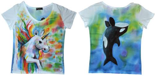 T-shirt For Anya by Sasha-Drug