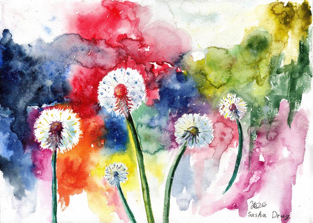 Dandelions 12.08.2014 by Sasha-Drug