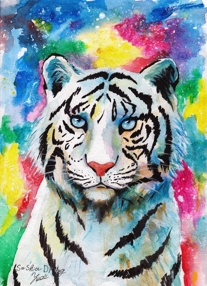 White Tiger by Sasha-Drug on DeviantArt