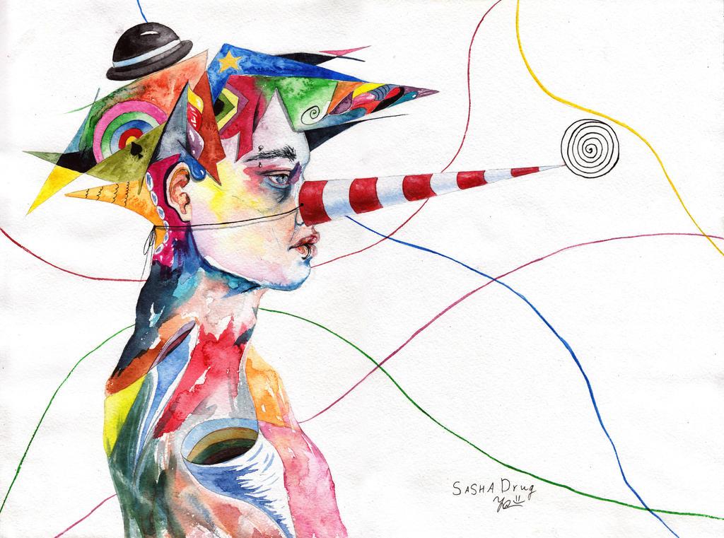 He Is Abstract by Sasha-Drug