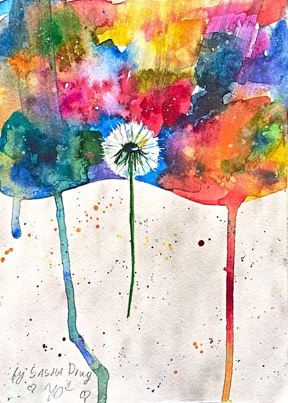 dandelion 18.08.2015 by Sasha-Drug
