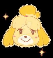 Isabelle sticker by juspeczik