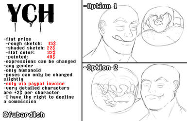 vore YCH - Hanging on [OPEN]