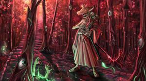 wandering samurai - #ArtistAvatarChallenge