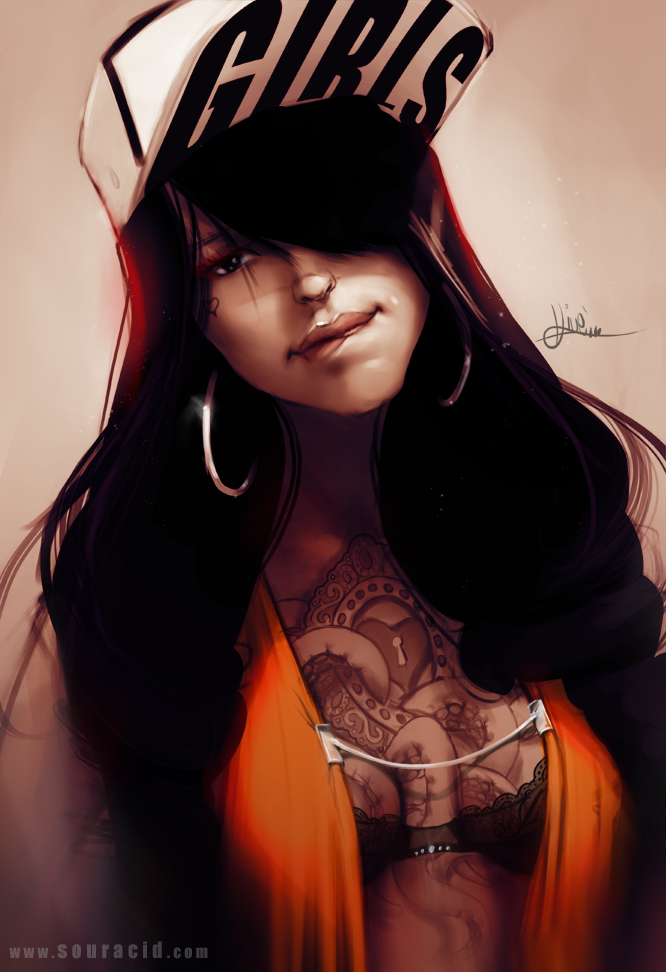Gangster girl by SourAcid