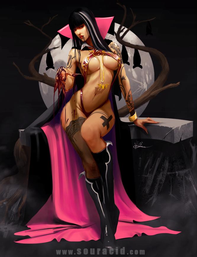 Vampirella by SourAcid