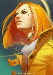 Yellow Tangerine dream by SourAcid