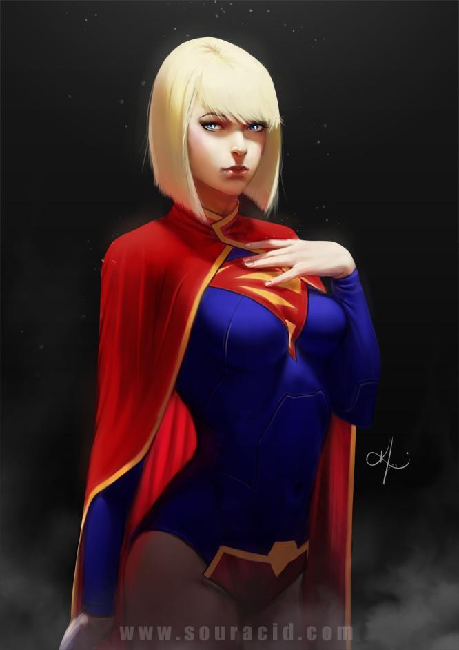 supergirl by souracid on deviantart