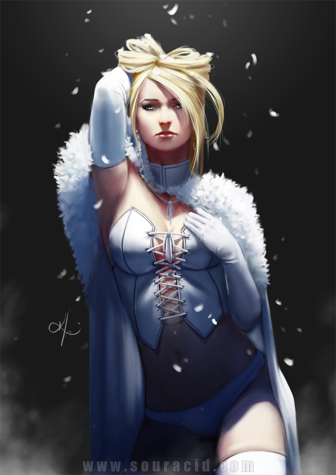 Emma Frost aka White Queen in Marvel Comics