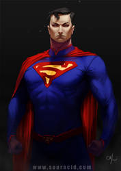 Superman by SourAcid