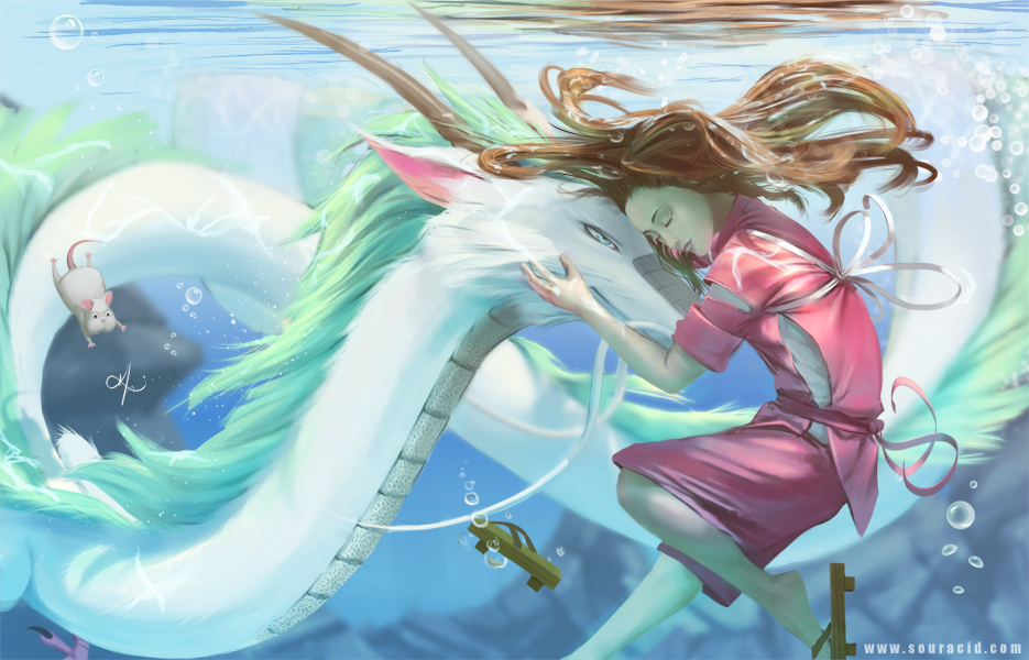 Spirited Away by SourAcid