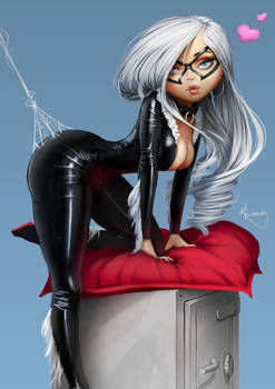 Black Cat Pinup